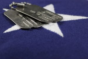 military commitment dog tags